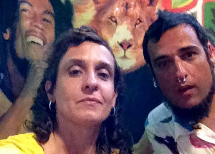 Jimi y Anna, fundadores de Reggae Seeds